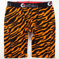 Ethika The Staple Boxers Orange Tiger  In Sizes