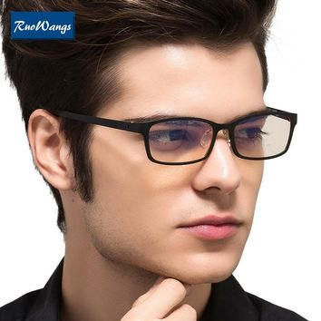 RuoWangs computer eyeglasses optical frames eyeglasses frame women eye glasses men spectacle frames eyewear clear lens optical