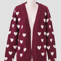 Heart Cardigan By Sugarhill