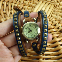 Retro Rivet Wraps Watch