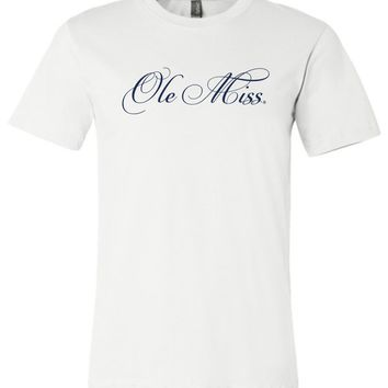 Official NCAA University of Mississippi Rebels Ole Miss Hotty Toddy Unisex T-Shirt - OLM01
