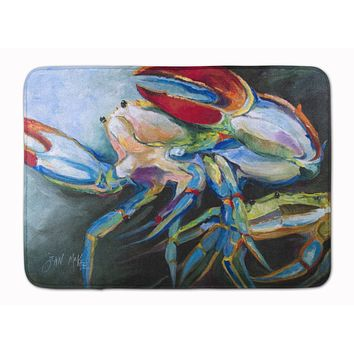 Blue Crab Machine Washable Memory Foam Mat JMK1103RUG