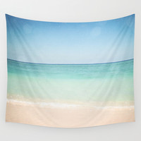 Seven Mile Beach Wall Tapestry by Jenndalyn