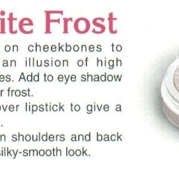 White Frost Highlighter For Cheeks, Eyes, and Body