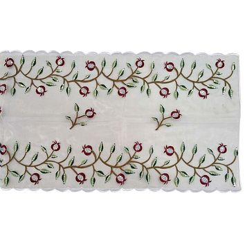 Table Runner Pomegranate Red