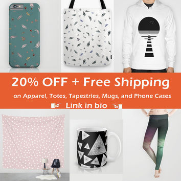 20% OFF + Free Shipping on Apparel, tapestries, mugs, totes and Phone cases by Maria Moreno | Society6