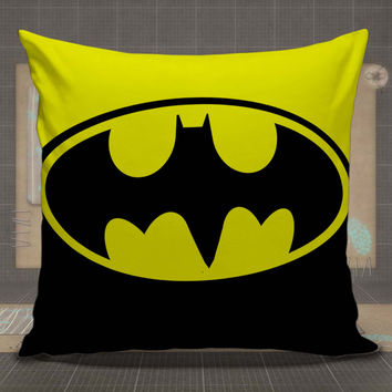 Batman Logo Marvel pillow case, pillow cover, cute and awesome pillow covers