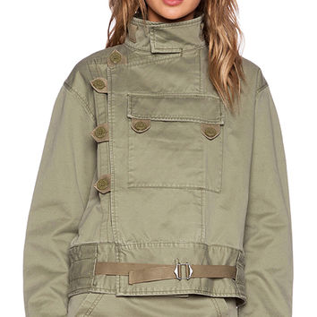 Marc by Marc Jacobs Classic Jacket in Olive