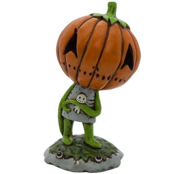 Boogily Collection- Pumpkin Billy Figurine