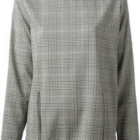 Stella McCartney checked blouse