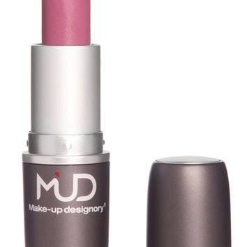 Mud Sheer Pink Twinkle Lipstick with LA Fresh Makeup Remover