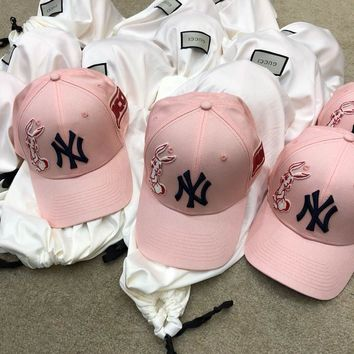 Lvf - Gucci Baseball Cap With Ny Yankees? Patch #2355