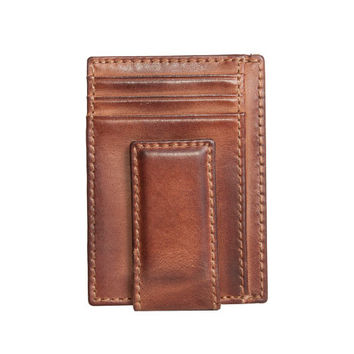 Jack's CARRYALL MAGNETIC Front Pocket Wallet - Multicard Construction - PERSONALIZED Wallet - Money Clip Wallet - Card Case