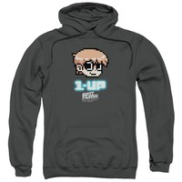 Scott Pilgrim - 1 Up Adult Pull Over Hoodie Officially Licensed Apparel