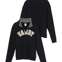 Vanderbilt University Boyfriend Half-Zip - PINK - Victoria's Secret