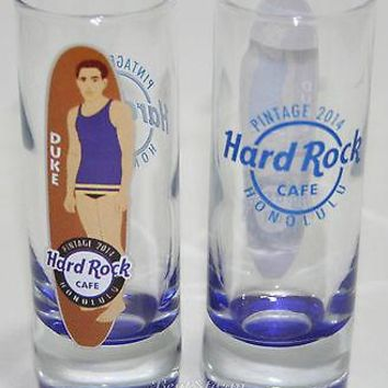 Licensed cool NEW 2014 Hard Rock Cafe HONOLULU Hawaii PINTAGE EVENT Shot Glass DUKE Surfboard