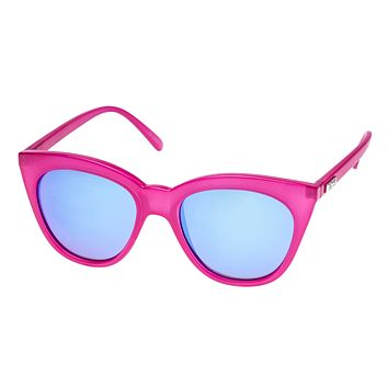 Le Specs - Halfmoon Magic Pink Sunglasses