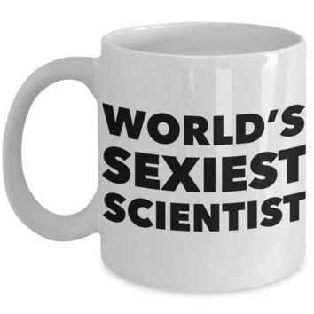 World's Sexiest Scientist Mug Sexy Neuro Clinical Data Gifts Ceramic Coffee Cup