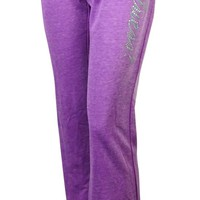 Guess Women's Graphic Fleece Yoga Pants