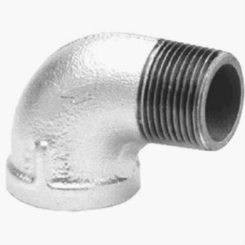 "Anvil® 8700127858 90-Degree Street Elbow, 1"", Galvanized"