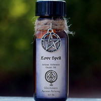 LOVE SPELL Artisan Alchemist Ritual Oil w/ by ArtisanWitchcrafts