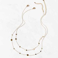 Dainty Love Necklace Set