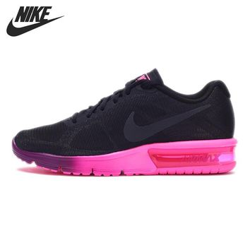 OPAL FERRIE - New Arrival NIKE AIR MAX Ombre Pink/Purple Women's Running Shoes/Sneak