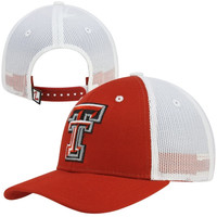 Zephyr Texas Tech Red Raiders Soft Trucker Mesh Hat - Scarlet/White