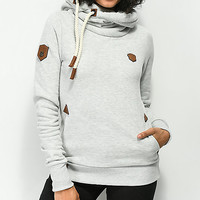 Naketano Darth Stone Grey Hoodie | Zumiez