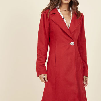 Fall in Love Coat | Mod Retro Vintage Coats | ModCloth.com