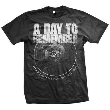 A Day To Remember: Broken Record T-Shirt (Black)