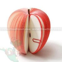 Beautiful Apple Shaped Removable Sticky Notes 150 Sheets - DinoDirect.com