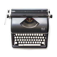 We R Memory Keepers® Typecast Typewriter, Black