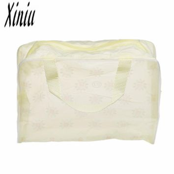 Portable Makeup Cosmetic Toiletry Travel Wash Toothbrush Pouch Organizer Bag mulheres Sacos Makeup Bag Waterproof Fashion Bags