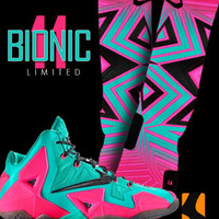 Custom Nike Elite Socks to match Shoes : Bionic