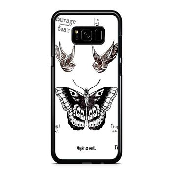 Tattoo Harry Style One Direction Samsung Galaxy S8 Case