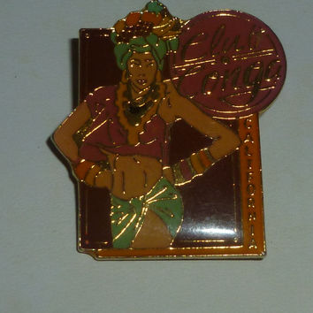 Club Congo Dancer Pin