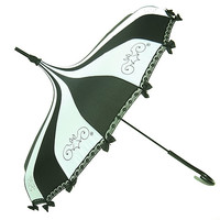 Umbrella Hilary's Vanity Gothic Steampunk Pinstripe Womens Skirt