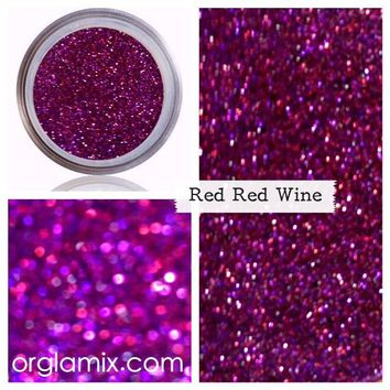 Red Red Wine Glitter Pigment
