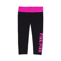 PINK Ultimate Yoga Crop Leggings - PINK - Victoria's Secret