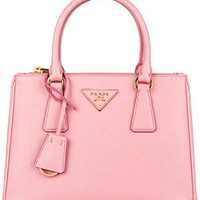 Prada Saffiano Galleria Bag - Pale Rose