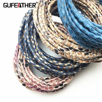 GUFEATHER/jewelry accessories/accessories parts/jewelry findings/diy accessories/hand made/leather cord/diy/embellishments