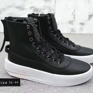 Puma XO Parallel x The Weeknd Unisex Simple Casual Fashion Zip High Help Boots Plate Shoes Couple Thick Bottom Sneakers