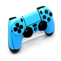 Playstation 4 (PS4) CONTROLLER Blue MATT Skin