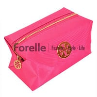 Cosmetic Makeup Travel Bag Purse Passione Travel Zipper Pouch Pencil Pen Case