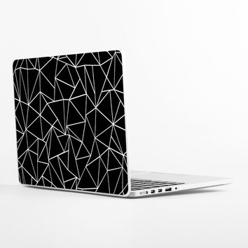 Ab Outlines Black Laptop Skin