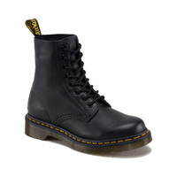Dr Marten Pascal 8 Eye Boot In Matte Black