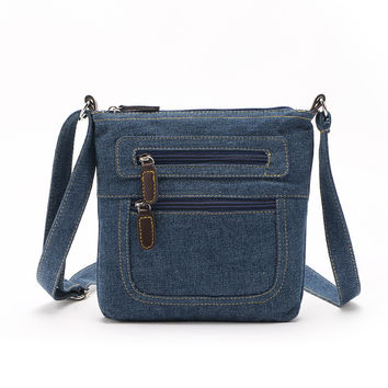 2017 Small Luxury Handbags Women Bag Designer Ladies Hand bags Big Purses Jean Denim Tote Shoulder Crossbody Women Messenger Bag