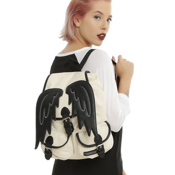Supernatural Castiel Wings Slouch Backpack