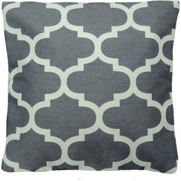 Mainstays Fretwork Decorative Pillow - Walmart.com